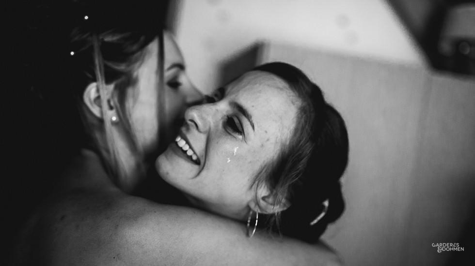 Mariage dans les Pyrénées, émotion, pleurs