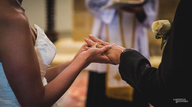 mariage, échange des alliances