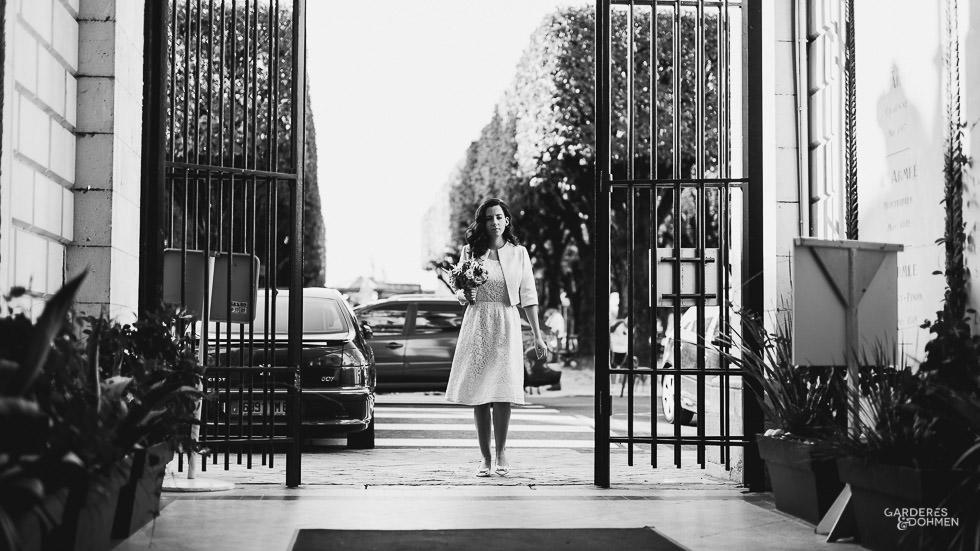 Mariage à Pau : la mariée aux portes de la mairie