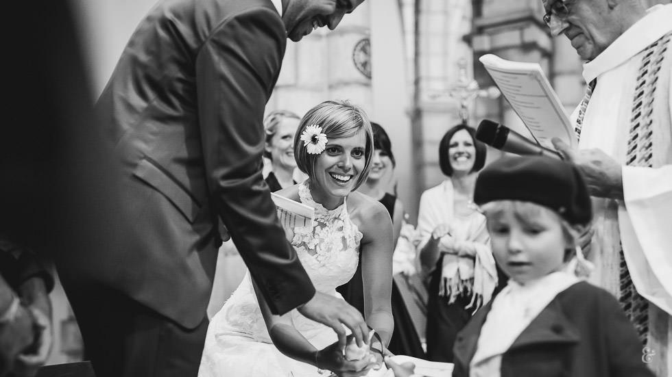 Mariage à l'église de Laruns
