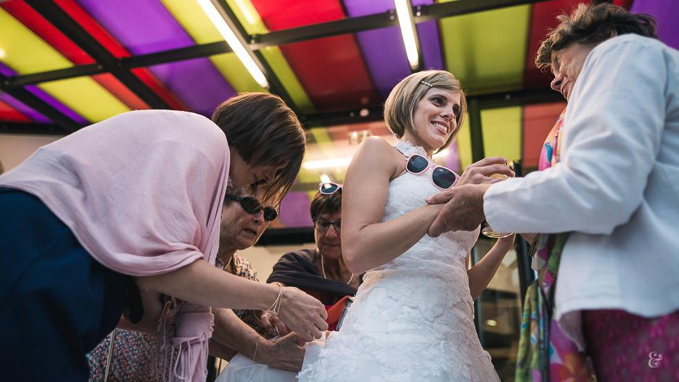 Mariage à la salle de Laruns