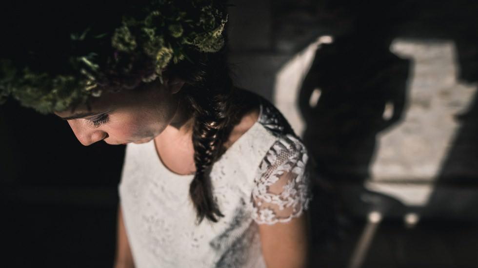 Mariée et son ombre