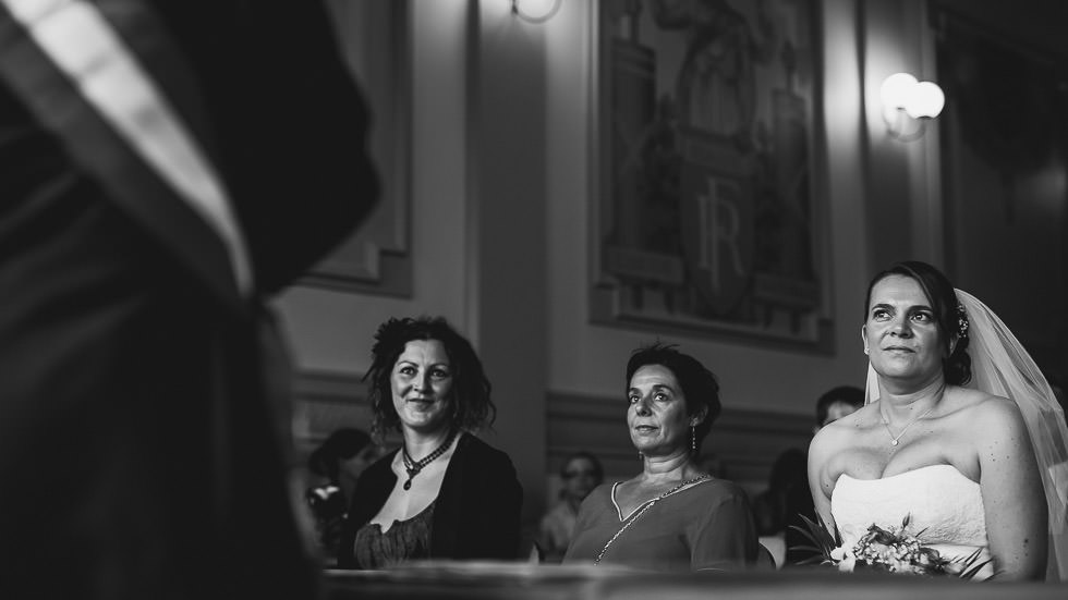 la mariée et ses témoins