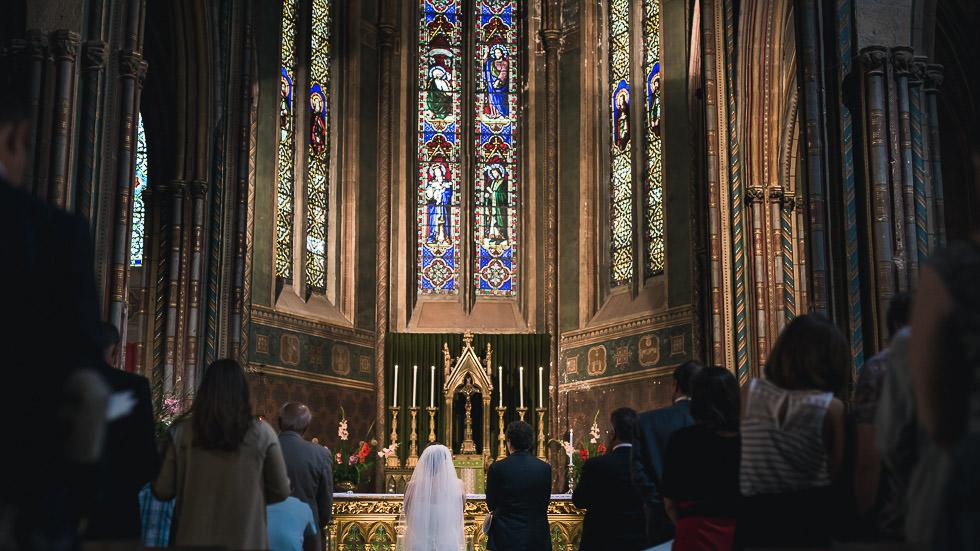 mariage à l'église Saint Pierre d'Orthez