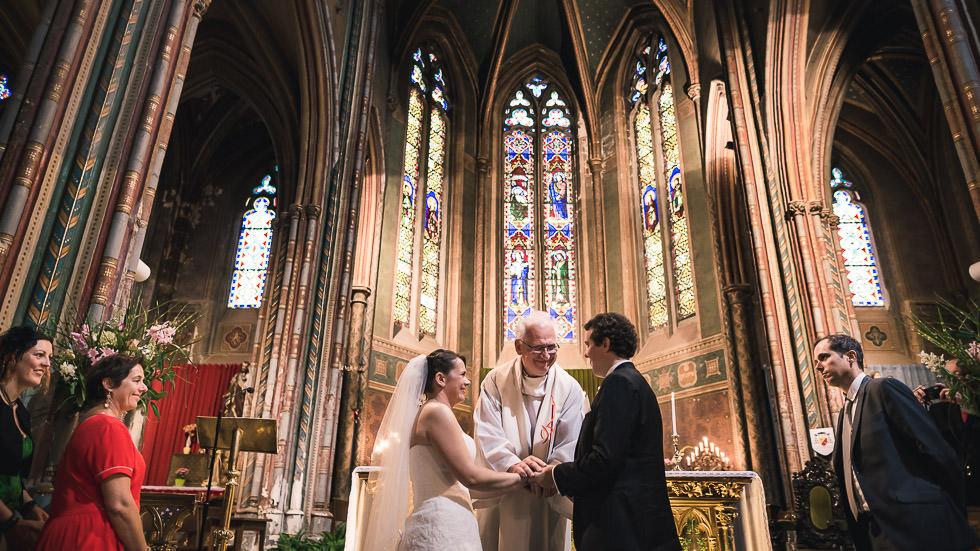 la bénédiction des mariés