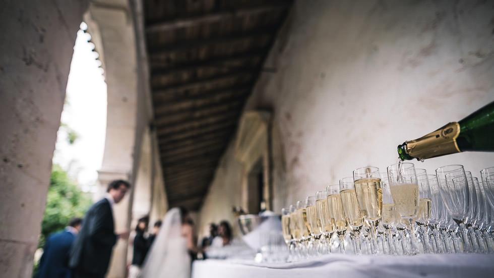 cocktail au château de Gaujacq