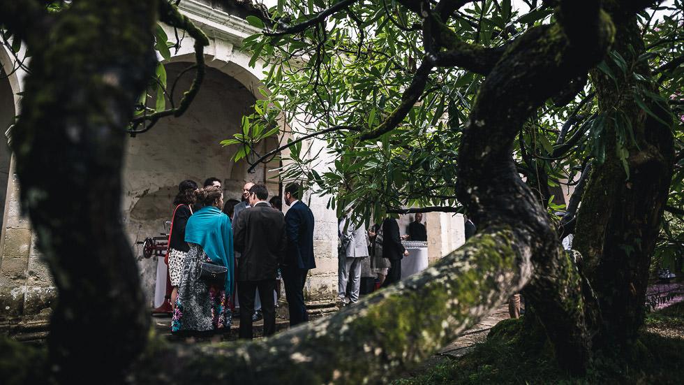 mariage au château de Gaujacq
