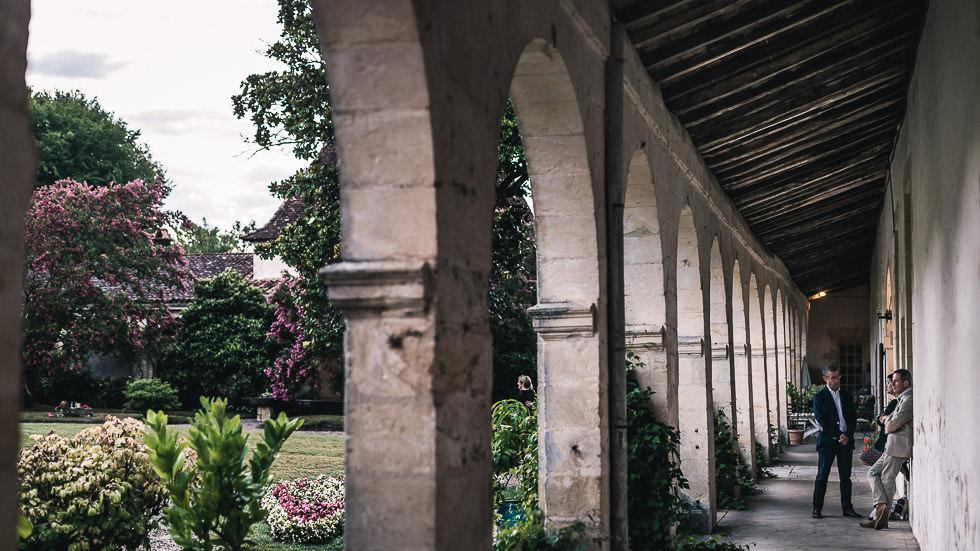 mariés au château de Gaujacq