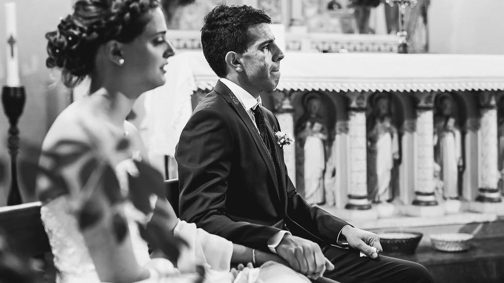 les mariés en pleur