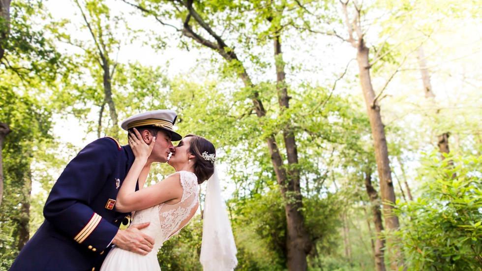couple mariés militaires
