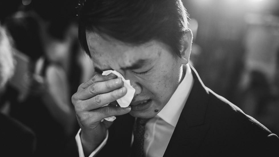 pleur du marié