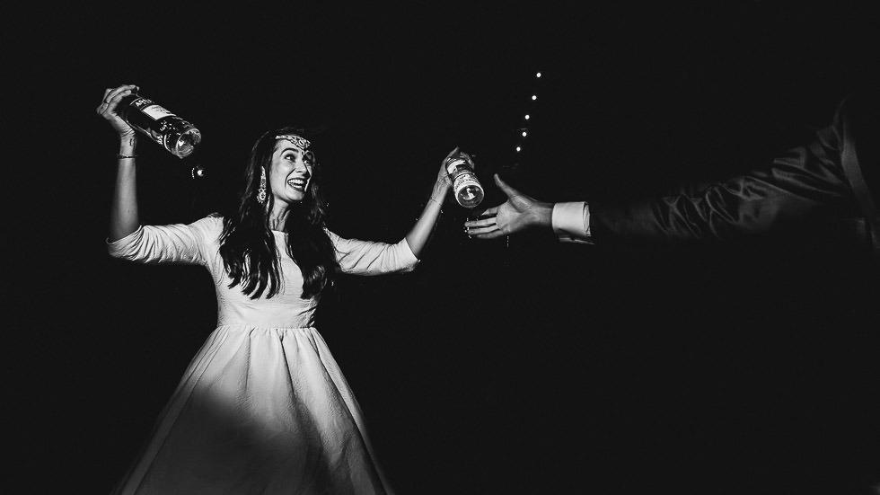 soirée alcoolisée de mariage