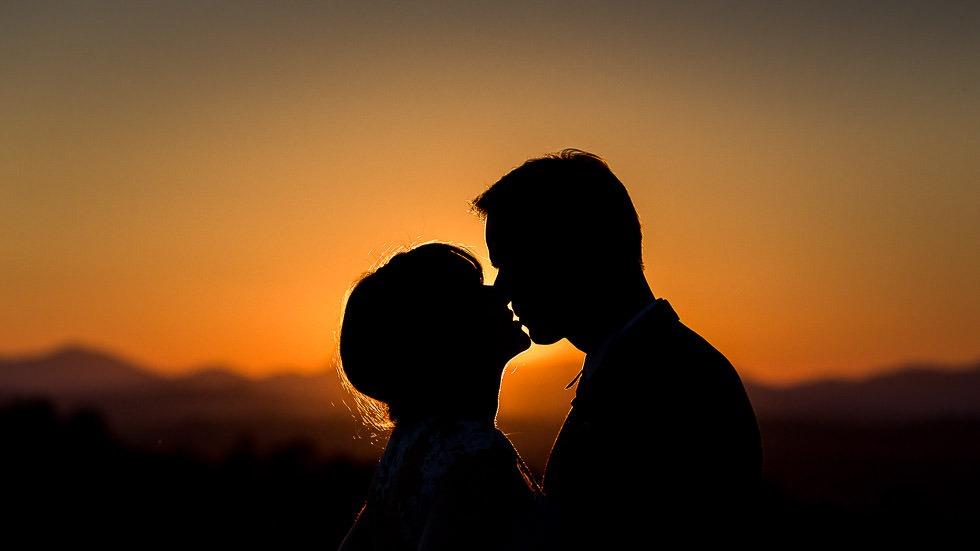 mariés amoureux