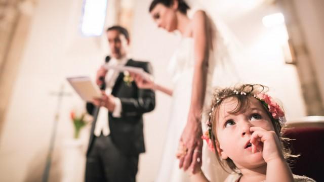 mariage à Pau, la demoiselle d'honneur