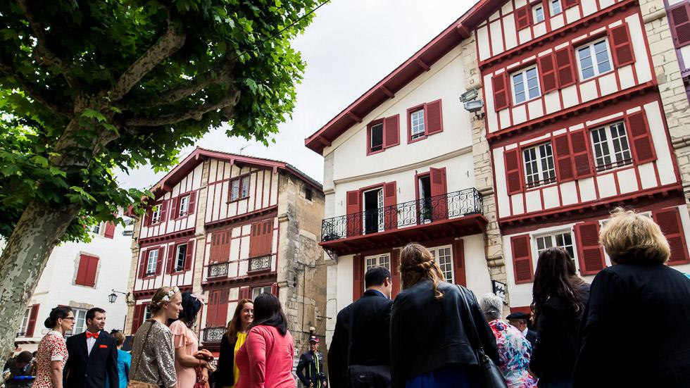 mariage à Saint-Jean-de-Luz