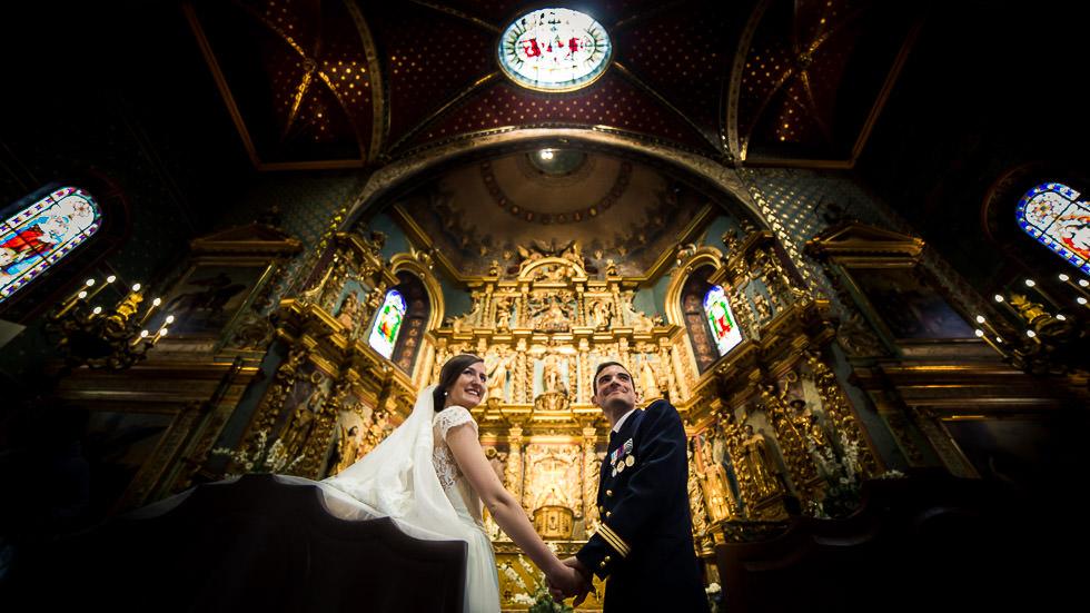 mariage à l'église de Saint-Jean-de-Luz
