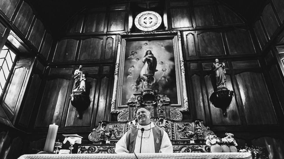 mariage dans une église basque
