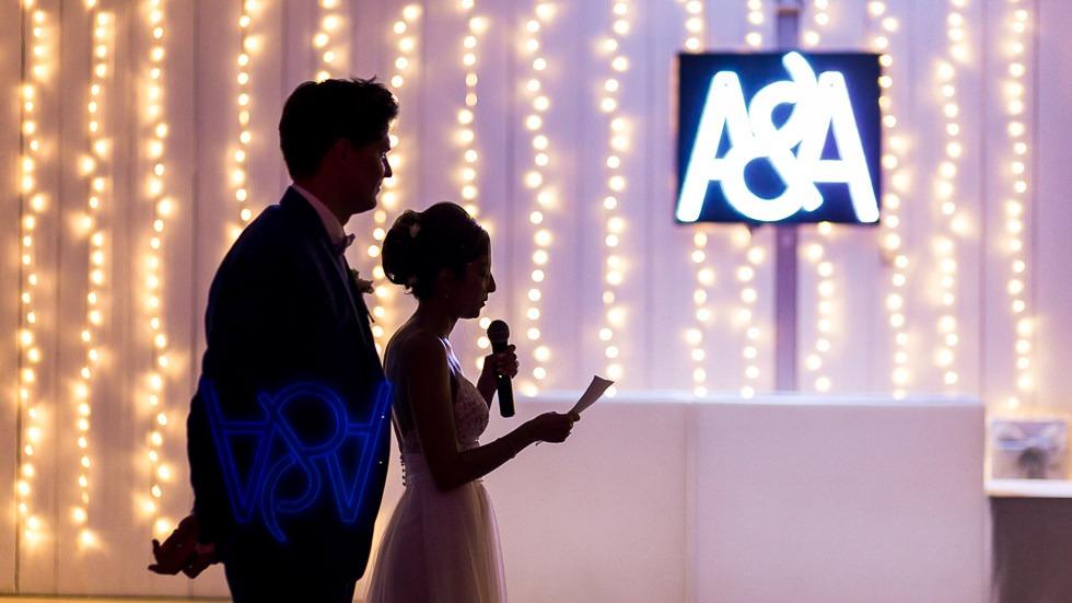 premier discours des mariés