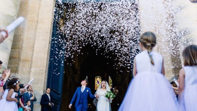 mariage à la cathédrale de Versailles